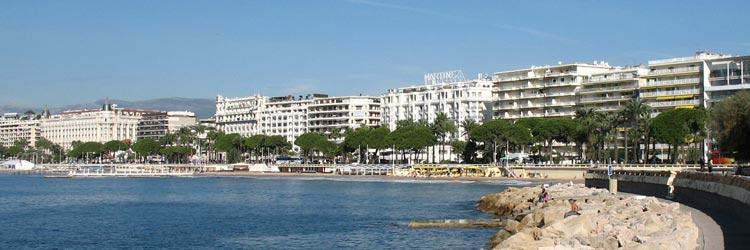 Luxury real estate on the Croisette