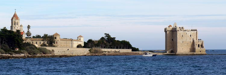 Luxury real estate in the Lérins Islands
