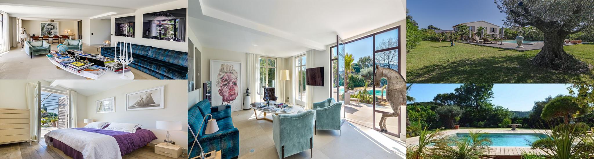 SAINT TROPEZ - 83990 El�gante villa proven�ale neuve de 220 m� � proximit� du centre du vil...
