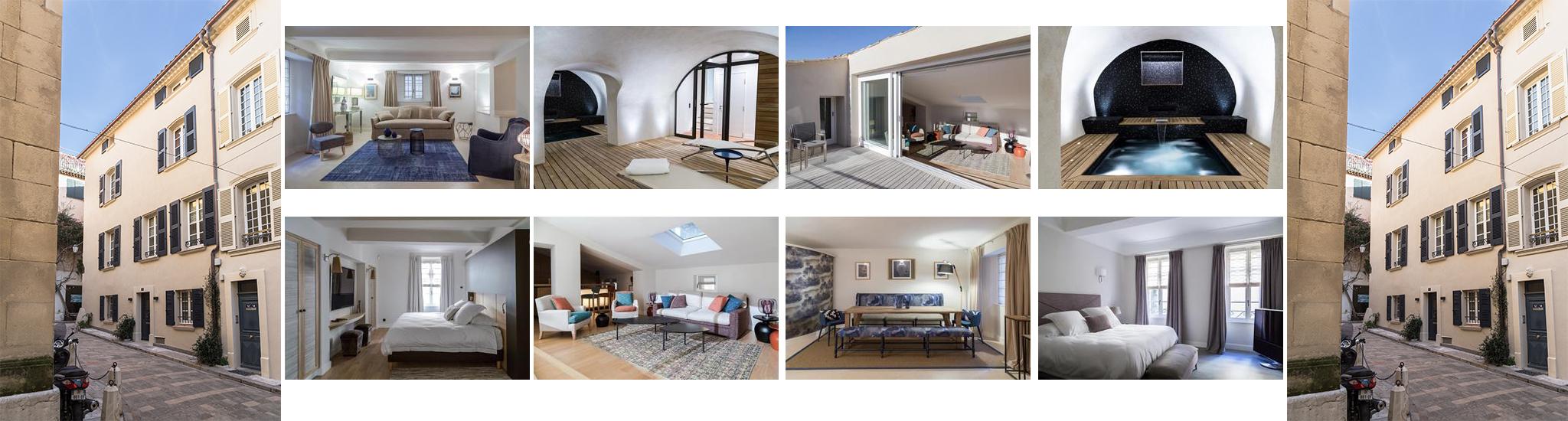SAINT TROPEZ - 83990 Magnifique maison offrant des prestations de haut standing.     Elle e...