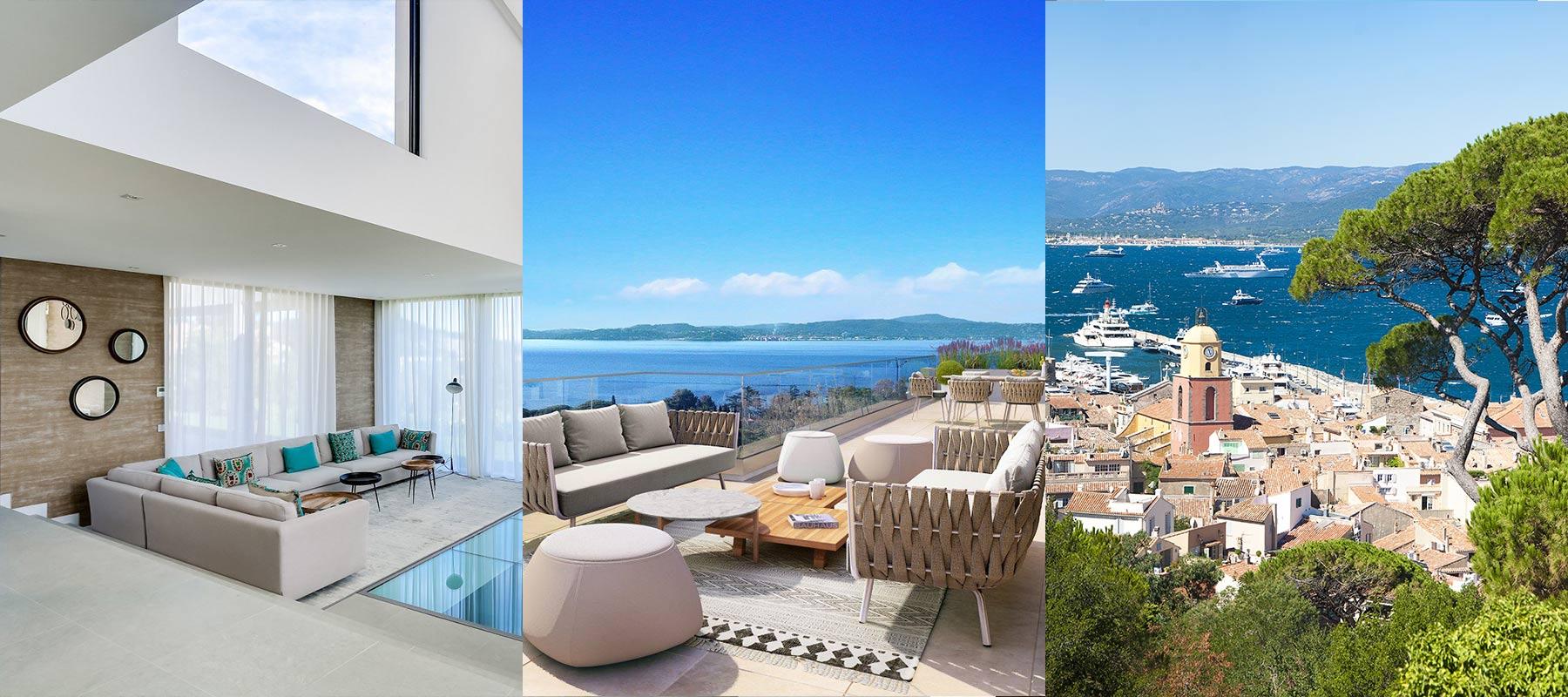 Propriétés de luxe à St Tropez